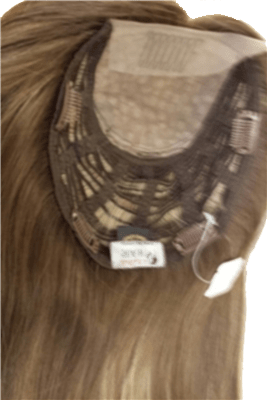 Multi Directional Blond Brazilian hair topper