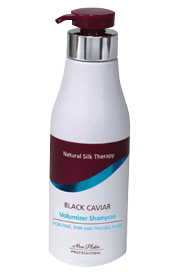 Black Caviar volumizer shampoo for fine and fragile hair
