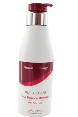 Black Caviar shampoo for oily hair
