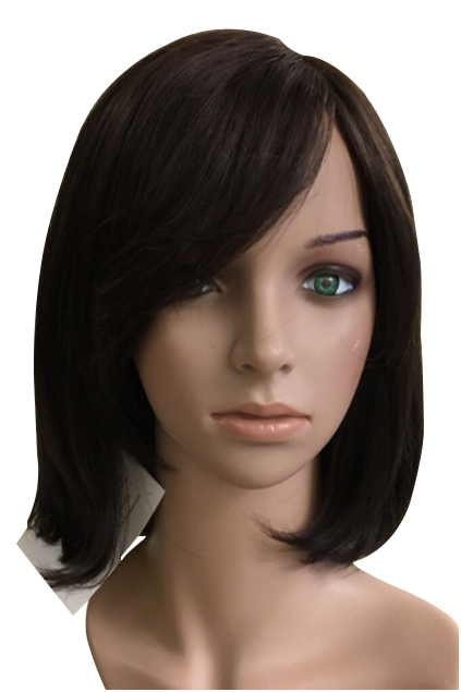 12-inch CARLY Georgie's wig 100% human hair