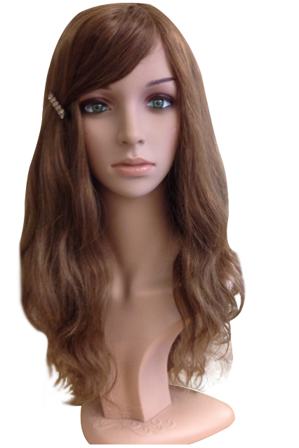 Long layers 18″ dark blond 100 % human hair