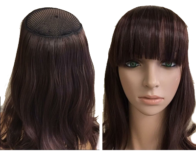 Beautiful layered bob cut wig Color-ashy blond Length-12 inch Cap -adjustable As in picture