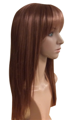 silky straight synthetic wig